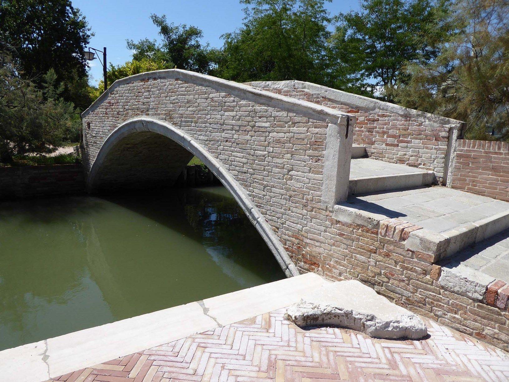 Ruregold per il rinforzo strutturale del Ponte di Santa Maria a Torcello