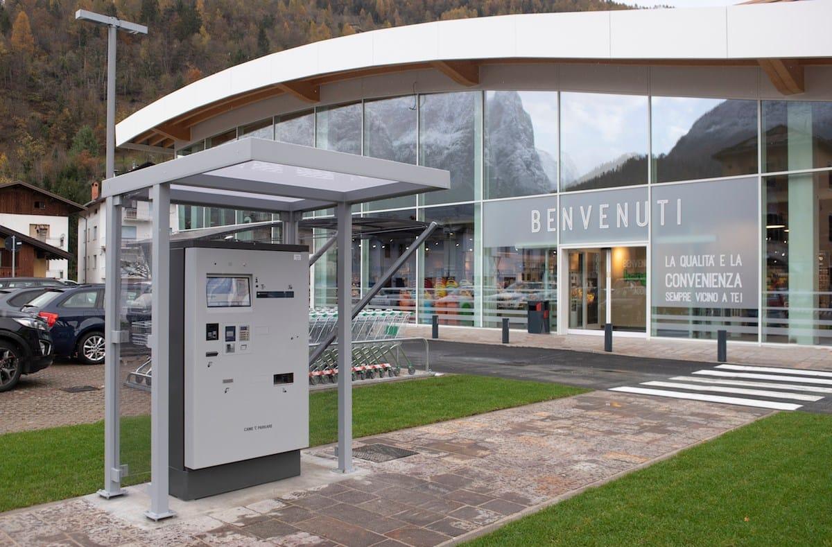 CAME: parcheggi tecnologici ad Agordo, fino a 200 posti anche a servizio dei cittadini