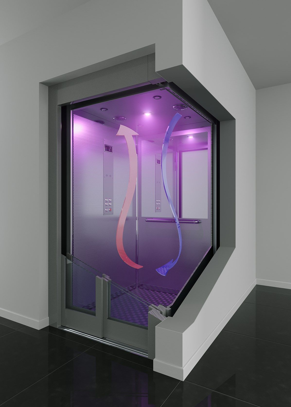 Coronavirus e ascensori: IGV Group presenta il kit che sanifica l'aria