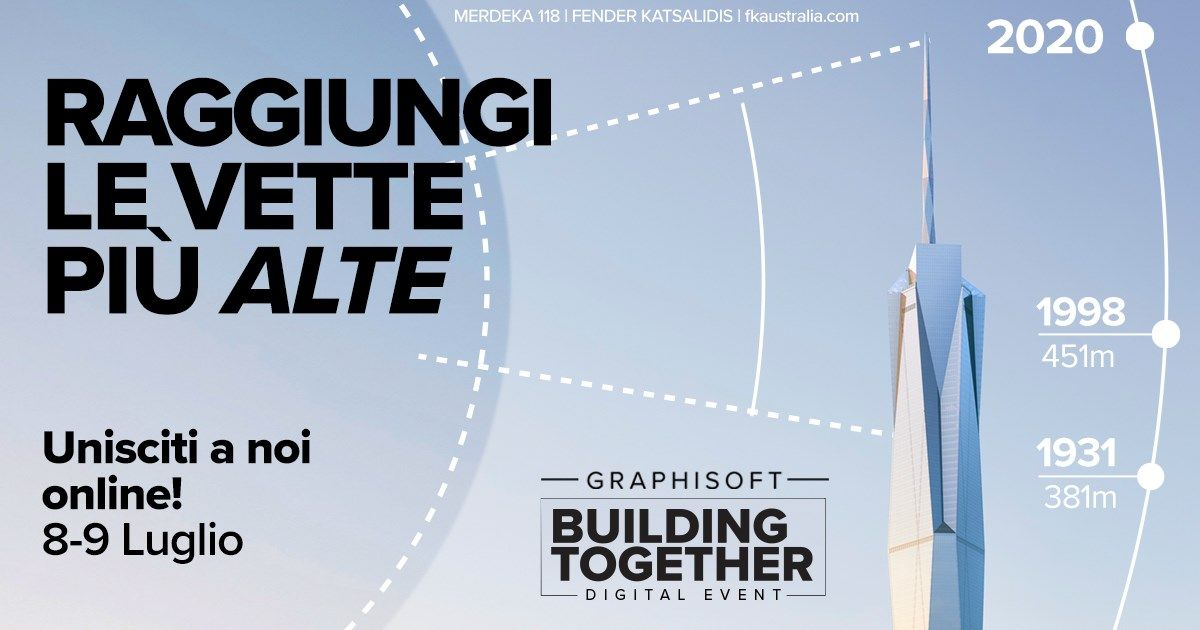 Building Together: tutte le novità GRAPHISOFT in un evento digitale