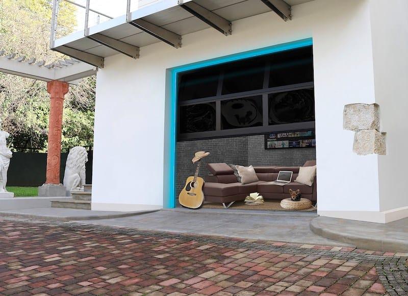BREDA, i portoni sezionali aprono la casa all'outdoor