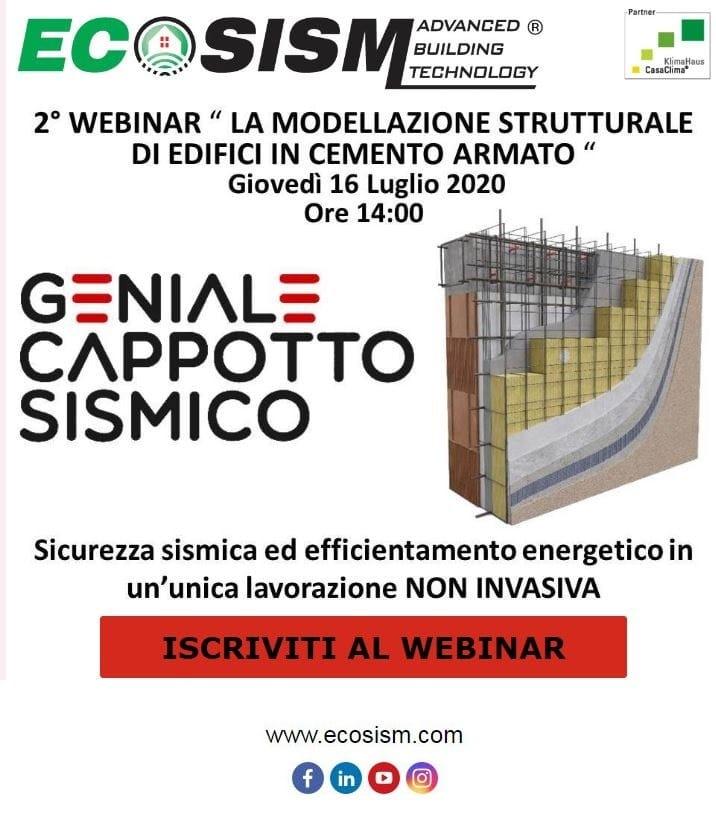 Da Ecosism® un webinar dedicato alla modellazione strutturale di edifici in cemento armato