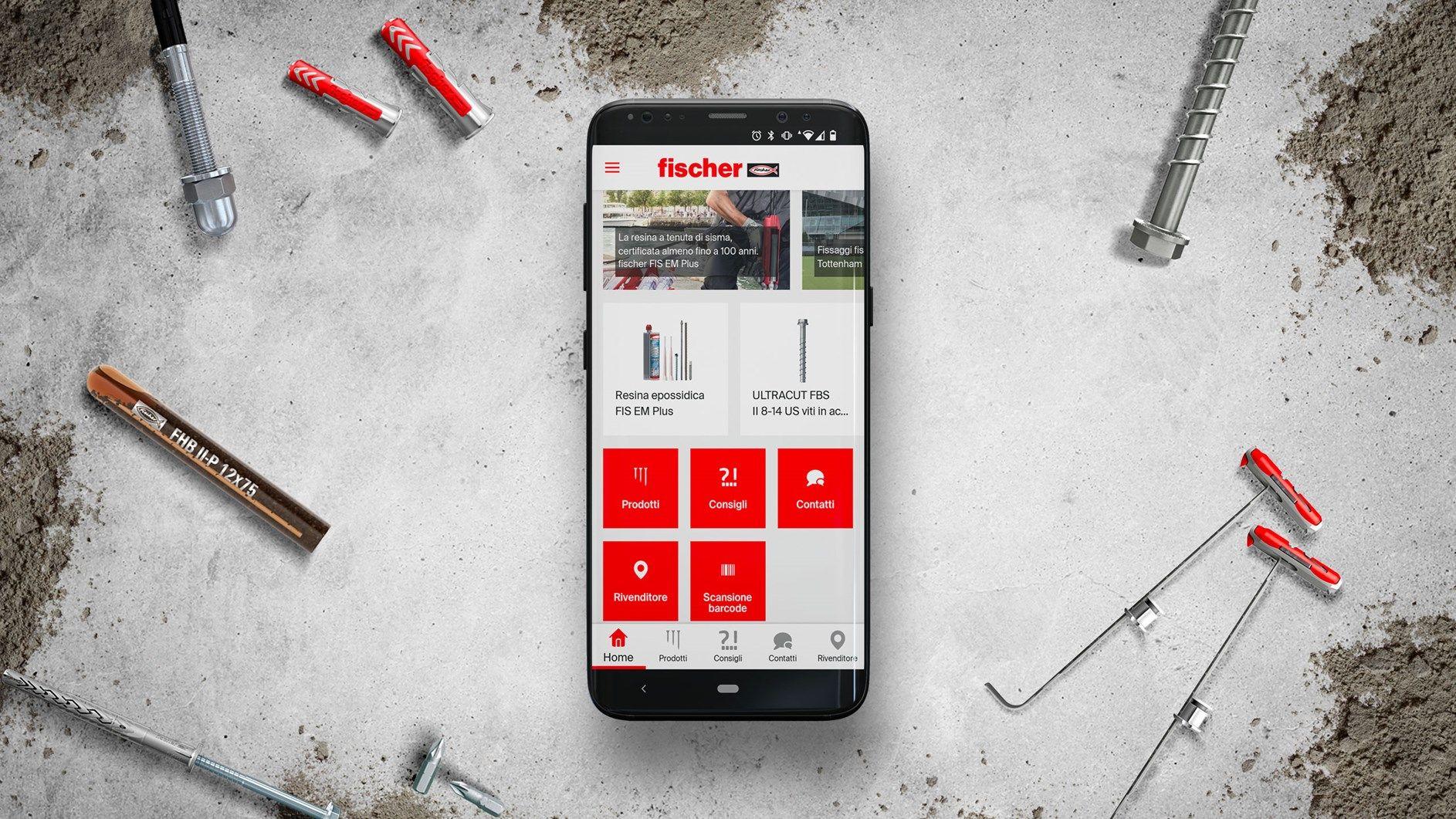 fischer Professional è la nuova app dedicata ai professionisti dell'edilizia