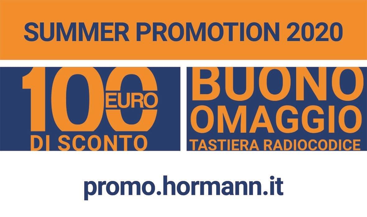 Hörmann lancia la Summer Promotion 2020