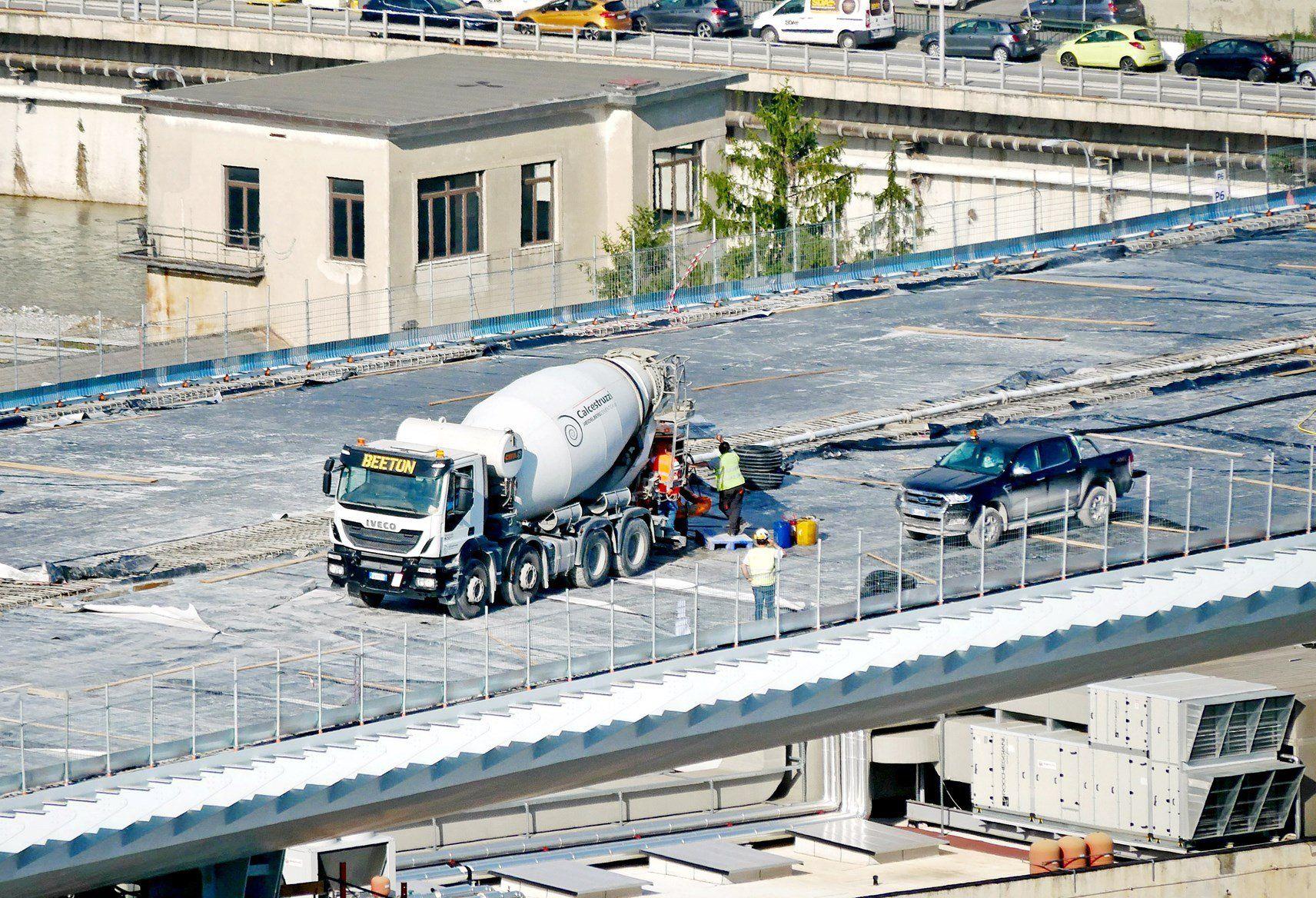 Italcementi e Calcestruzzi per il Ponte Genova San Giorgio
