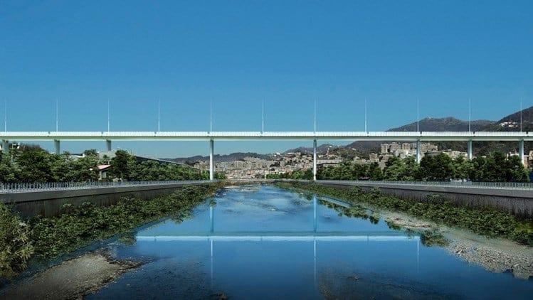 Per il nuovo ponte sul Polcevera Studio MEG ha scelto Tekla Structures