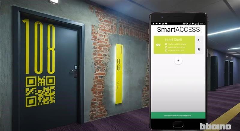 Smart Access Bticino: il nuovo sistema di  check-in intelligente per le strutture ricettive