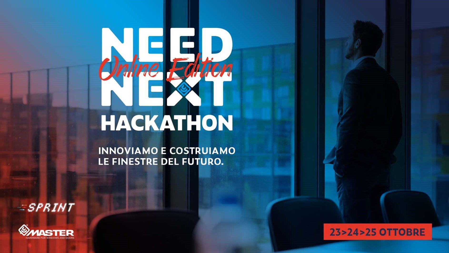 Master Italy lancia Need Next Hackathon