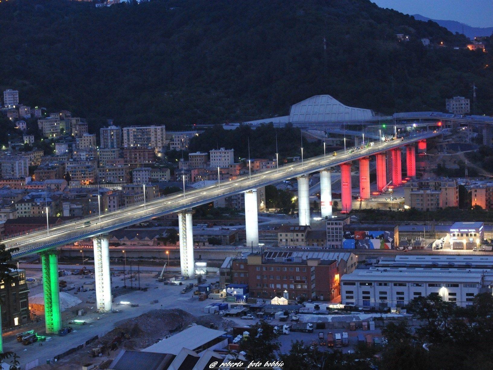 È Made in Italy il vetro del nuovo Ponte di Genova
