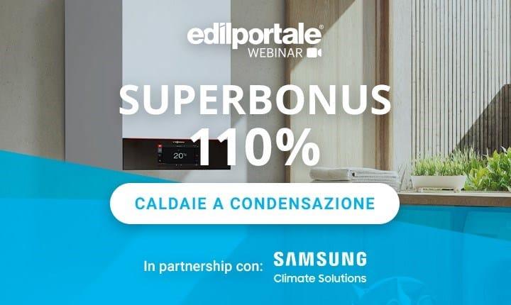 Superbonus 110%, domani un nuovo webinar di Edilportale