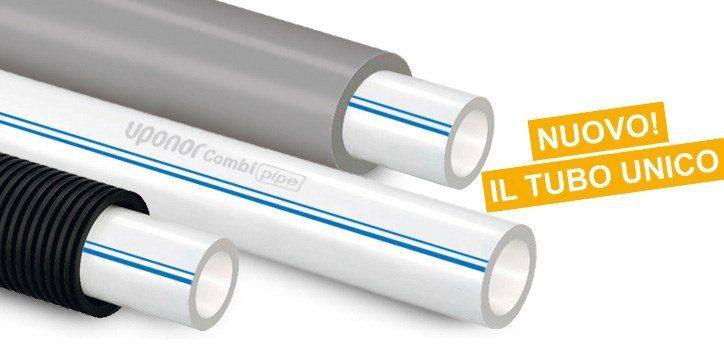 Uponor Combi Pipe - La nuova tubazione Uponor PE-Xa: sempre un passo avanti