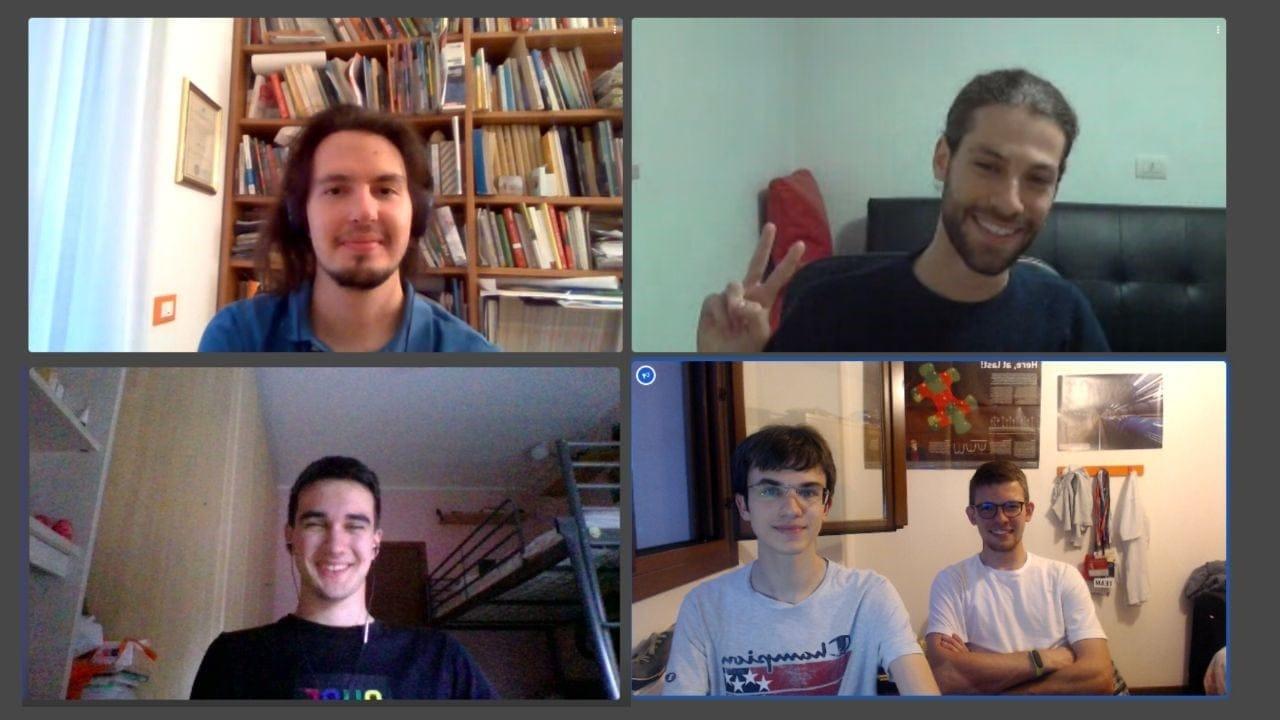 La squadra Staccah Staccah si aggiudica il primo hackathon BTicino