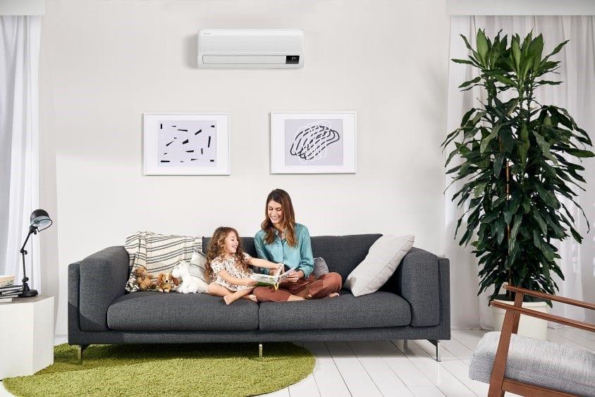 Samsung Wind-Free™: temperatura ideale, qualità dell'aria ed efficienza energetica anche nella mezza stagione
