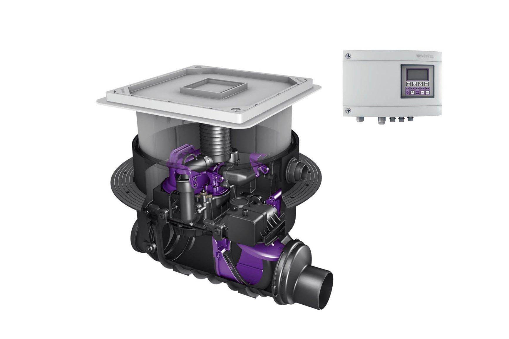 KESSEL Ecolift: impianto di sollevamento ibrido per il risparmio energetico