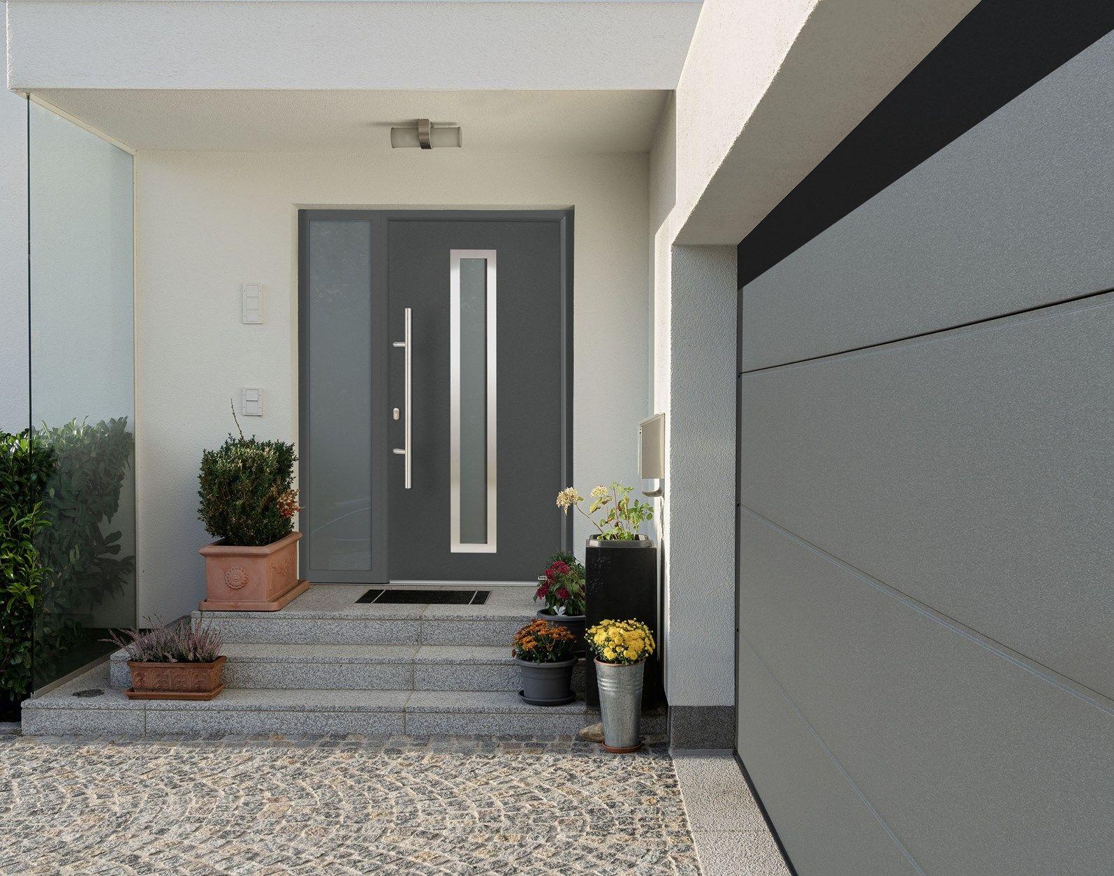 Porta d'ingresso Thermo65 di Hörmann:  connubio perfetto tra tecnologia e design