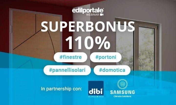 Superbonus 110% per finestre, portoni, pannelli solari e domotica