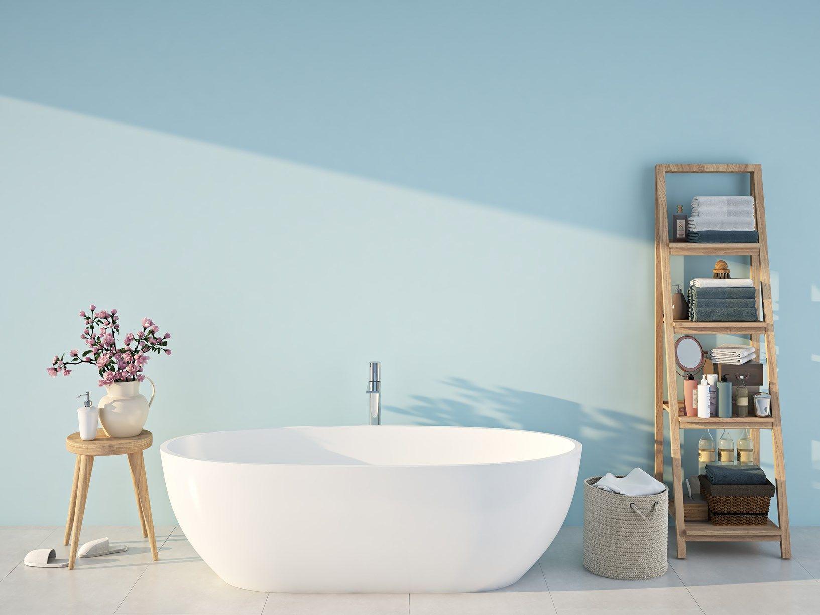 Nuova vita alle pareti del bagno e ai termosifoni con le vernici MaxMeyer