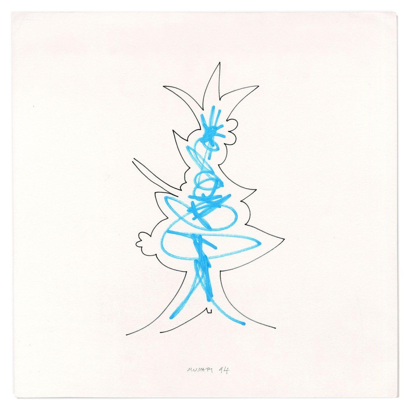 'Scarabicchi', segni e disegni di Bruno Munari