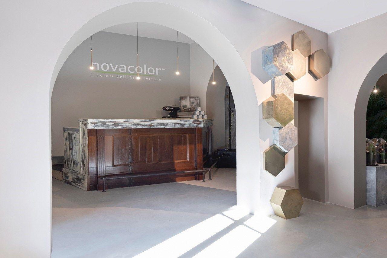Novacolor apre il suo showroom sociale a Milano