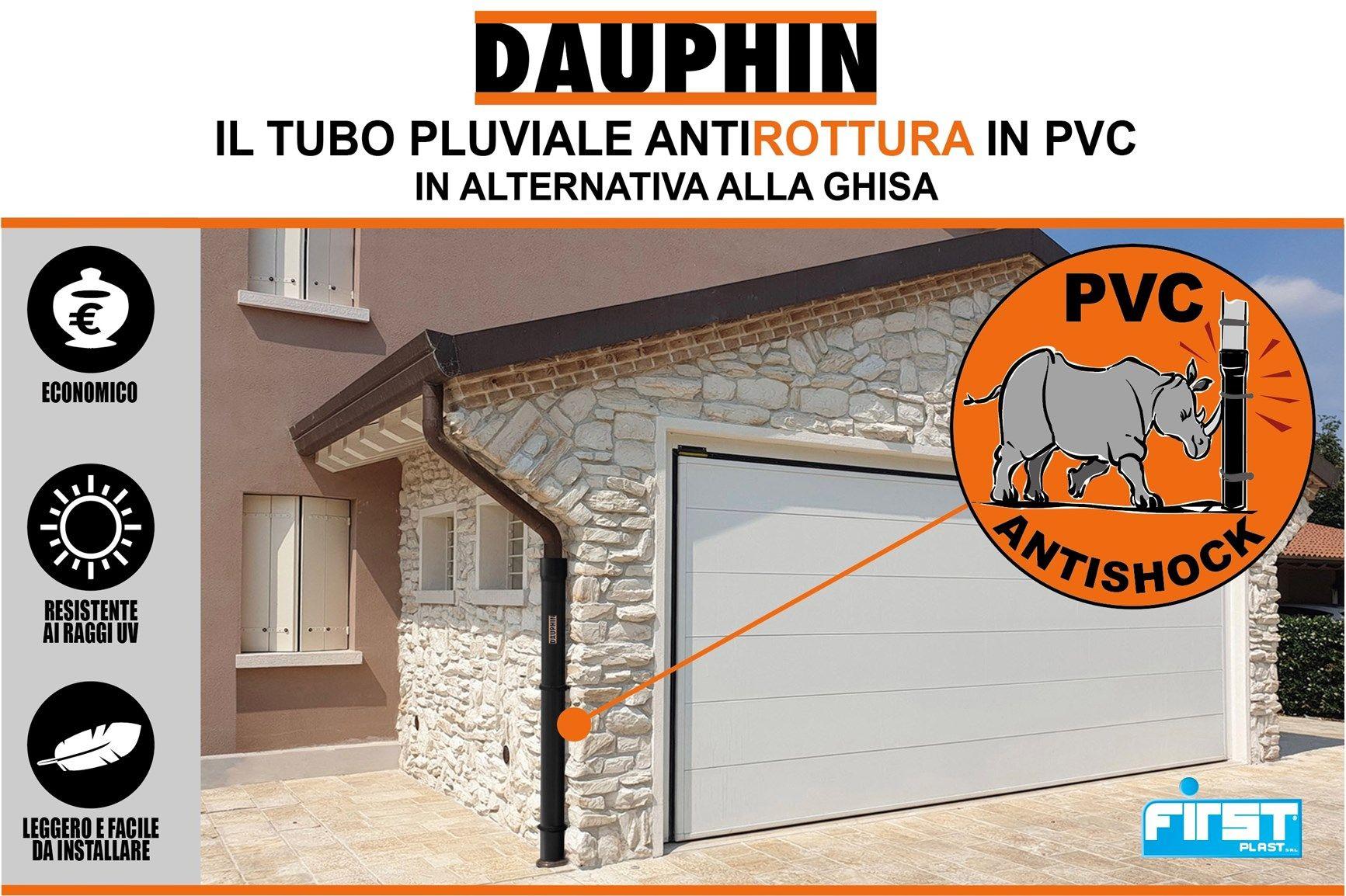 First Corporation presenta il tubo pluviale antiurto Dauphin