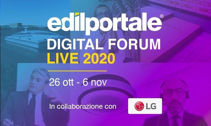 Edilportale Digital Forum, giro di boa per la prima fiera virtuale dell'edilizia