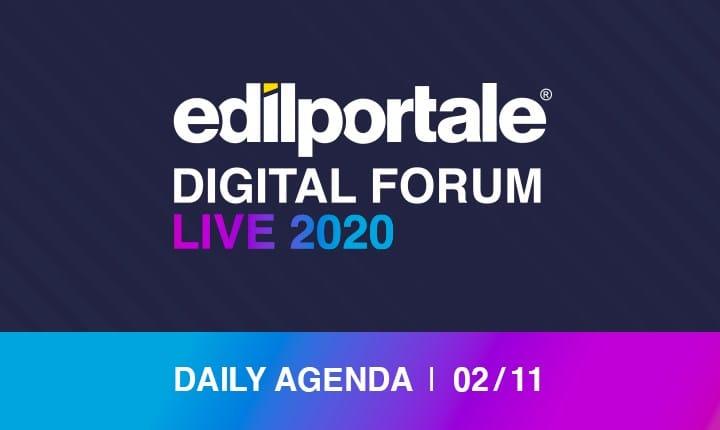 Edilportale Digital Forum, al via la seconda settimana