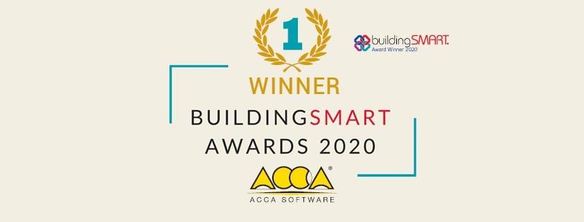 ACCA vince il buildingSMART International Awards 2020