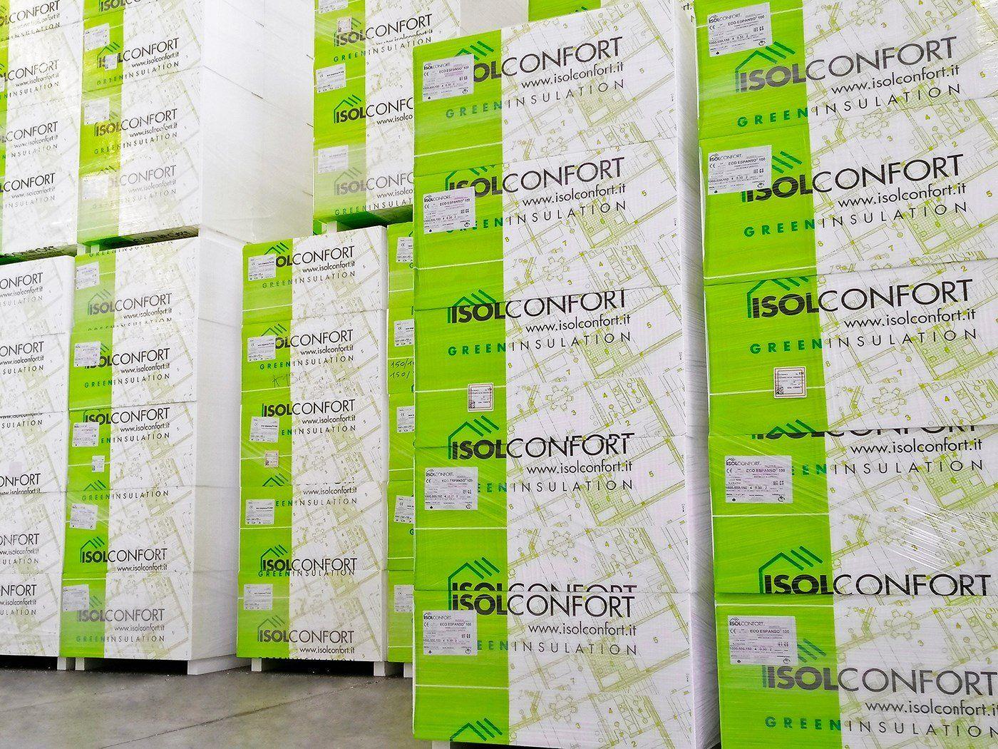 Da Isolconfort nuove lastre isolanti in polistirene certificate EPD