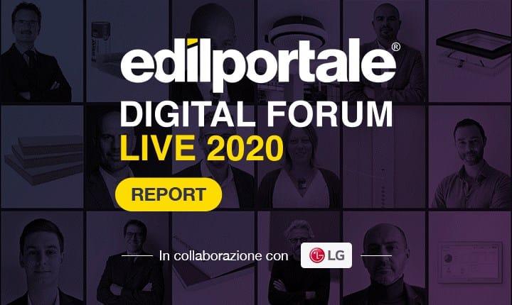 Edilportale Digital Forum, oltre 1 milione di professionisti per la prima edizione della fiera virtuale dell'edilizia