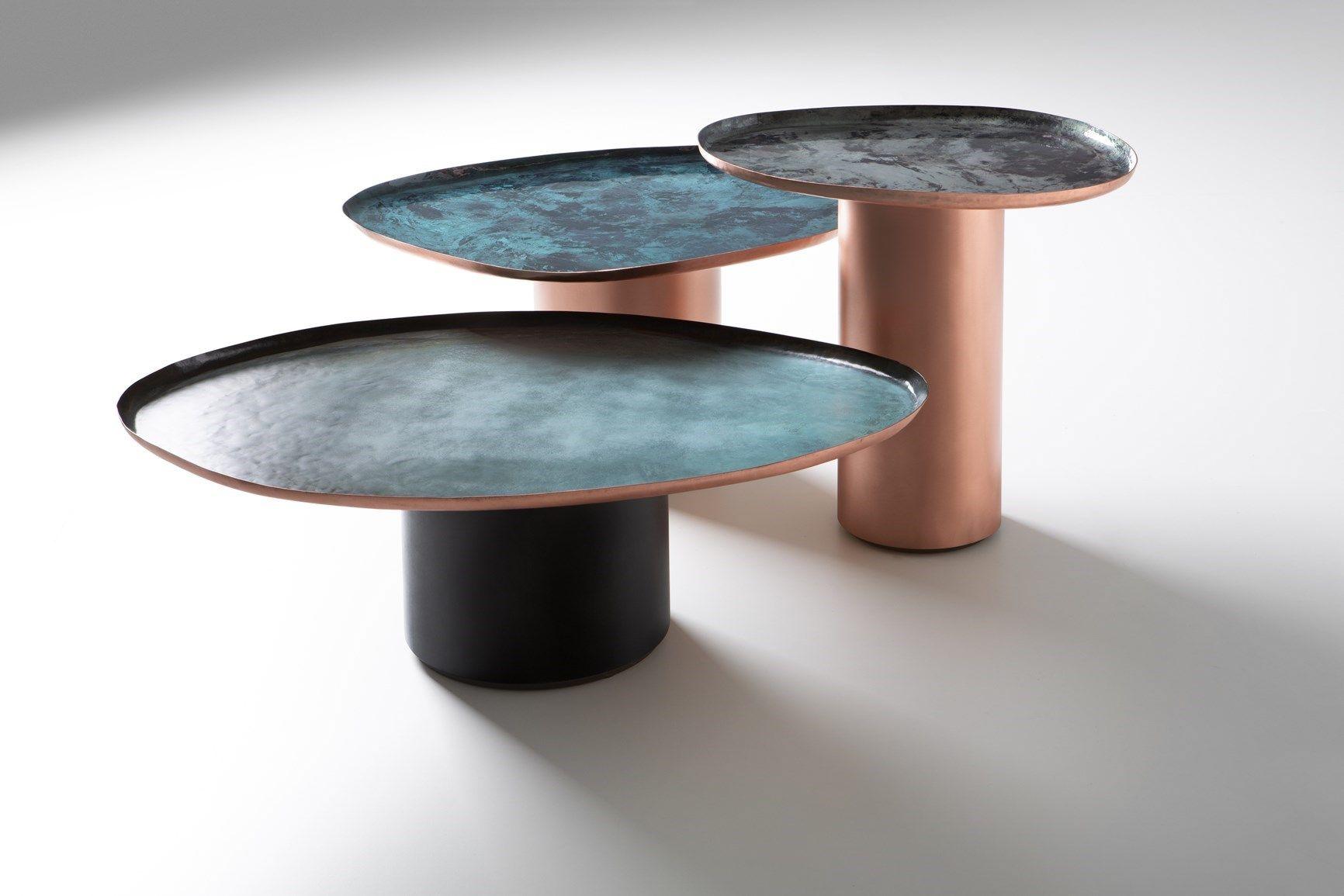 I nuovi tavolini firmati Zanellato/Bortotto per De Castelli