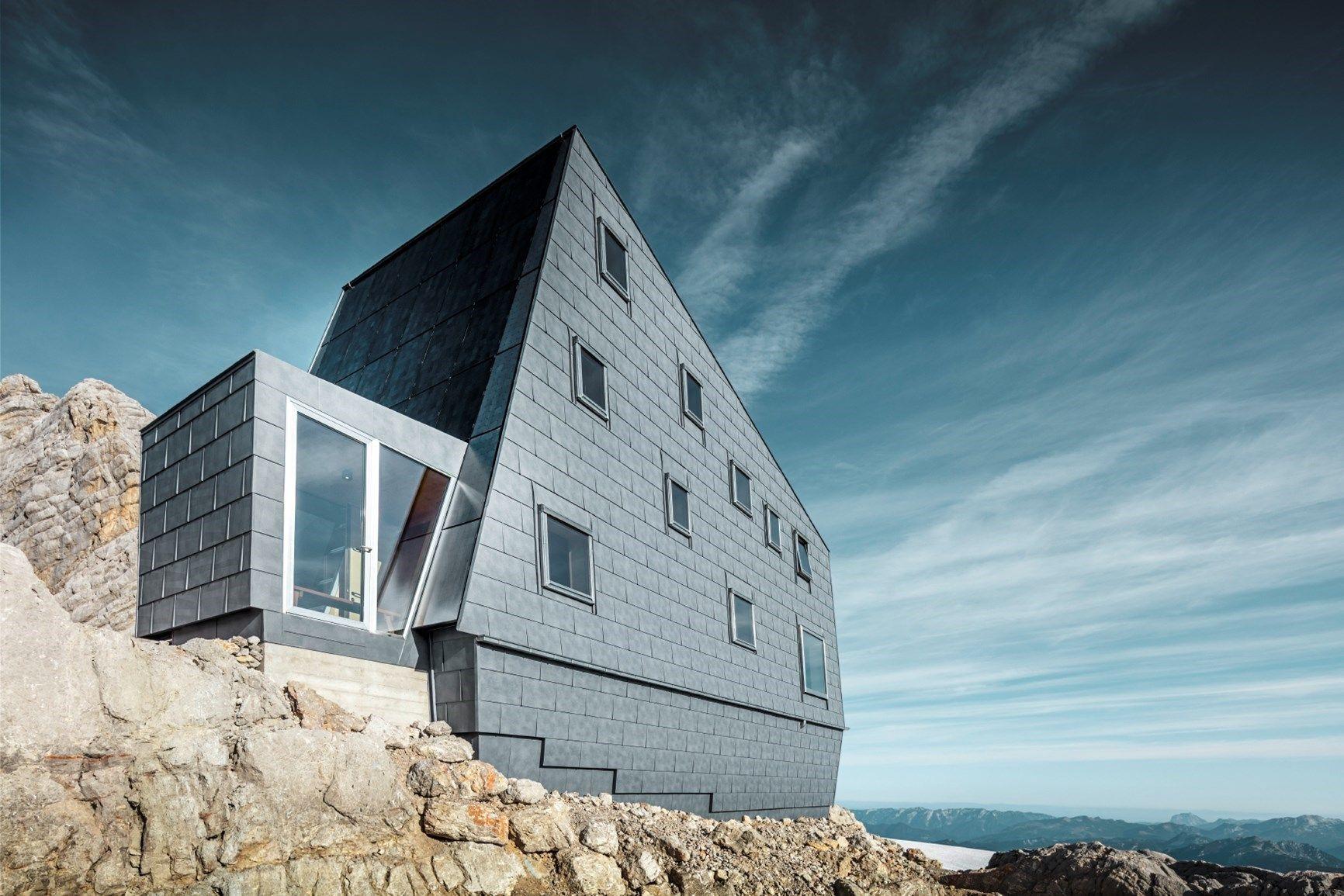 L'alluminio PREFA conquista il monte Dachstein