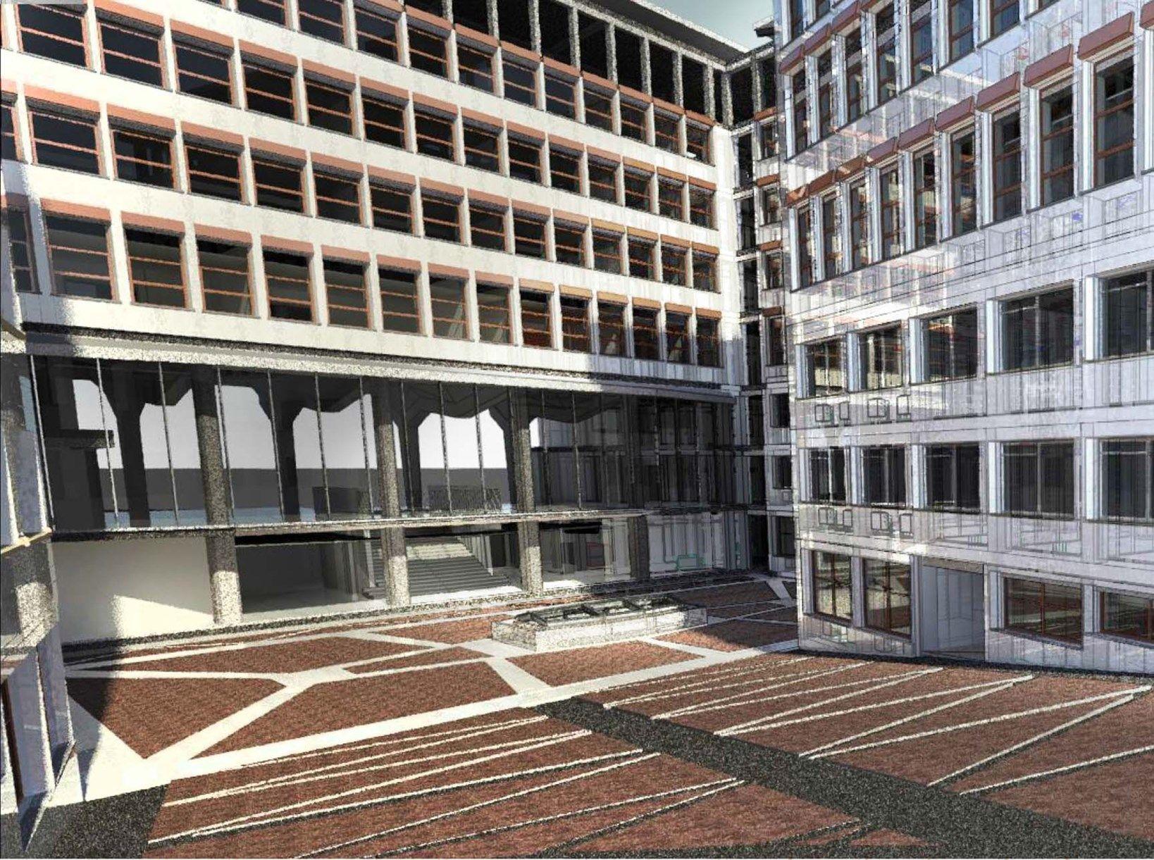 Le soluzioni in argilla espansa Leca per la manutenzione di un palazzo di Banca d'Italia