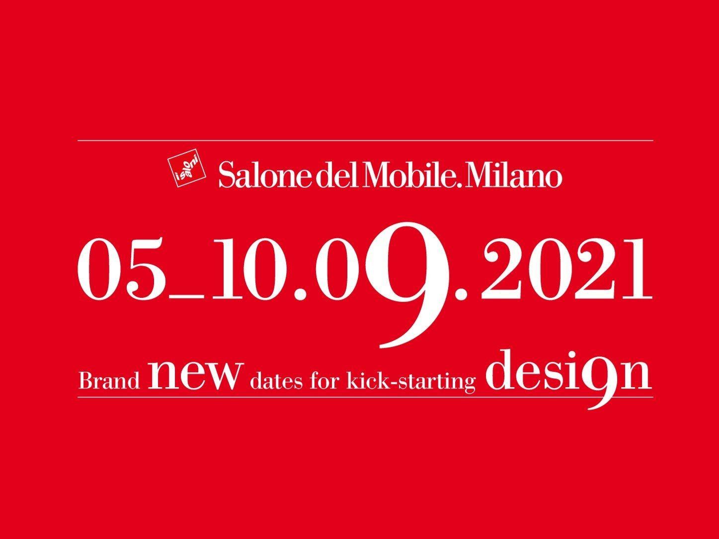 Il Salone del Mobile.Milano 2021 sarà a Settembre