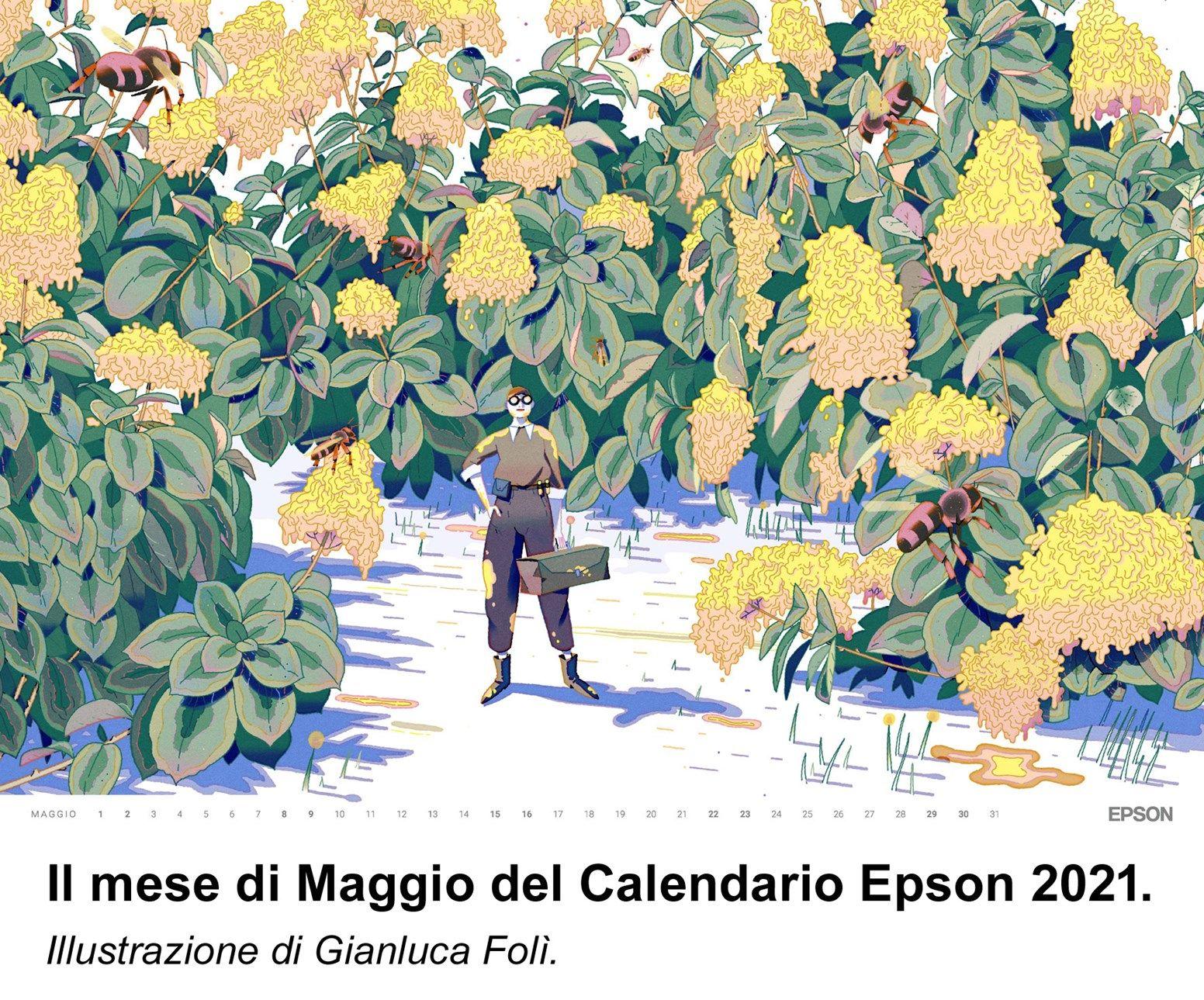 Epson presenta il Calendario 2021
