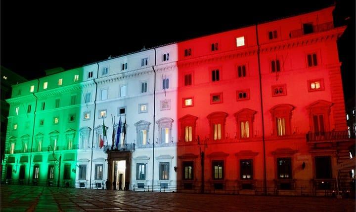 Palazzo Chigi - Foto tratta da governo.it