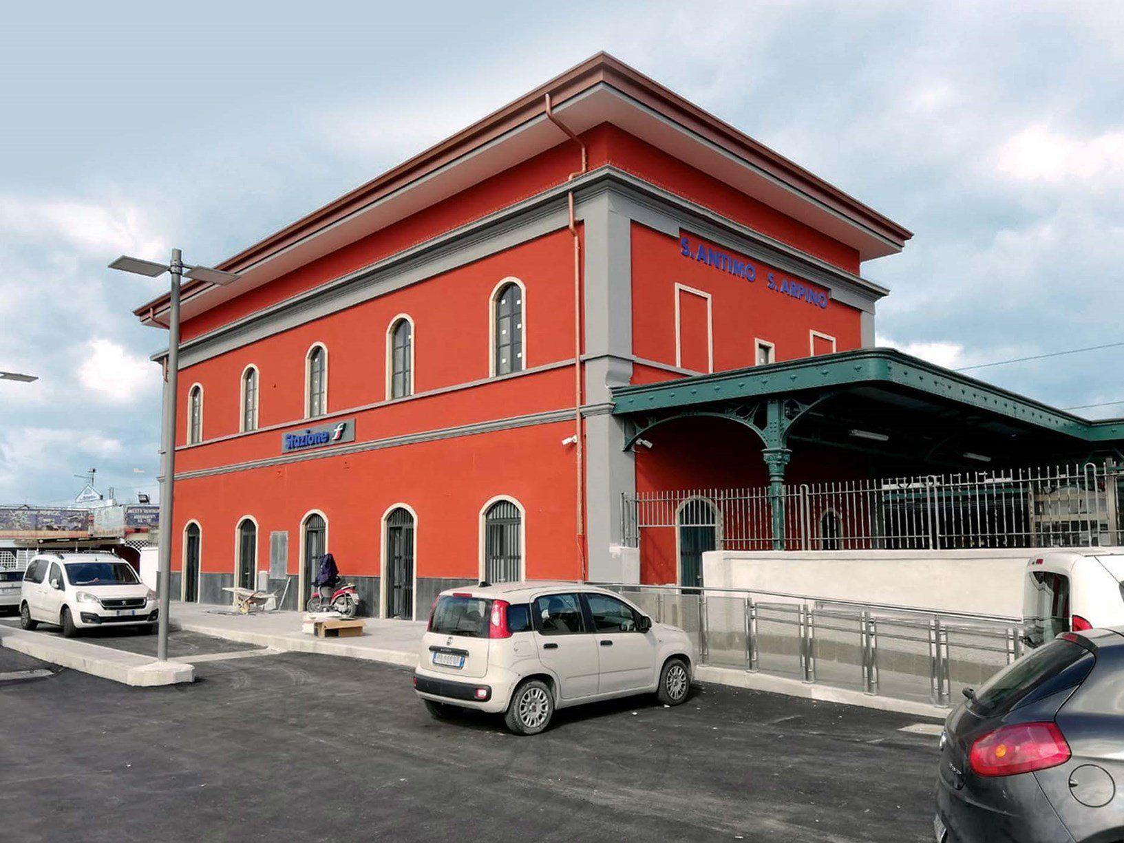 Le soluzioni FRCM di Ruregold per la riqualificazione di stazioni ferroviarie