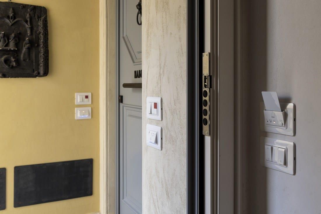 Design e domotica AVE alla Residenza Palazzo Brenzoni