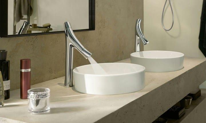 Foto: Miscelatore per lavabo da piano Axor Starck Organic