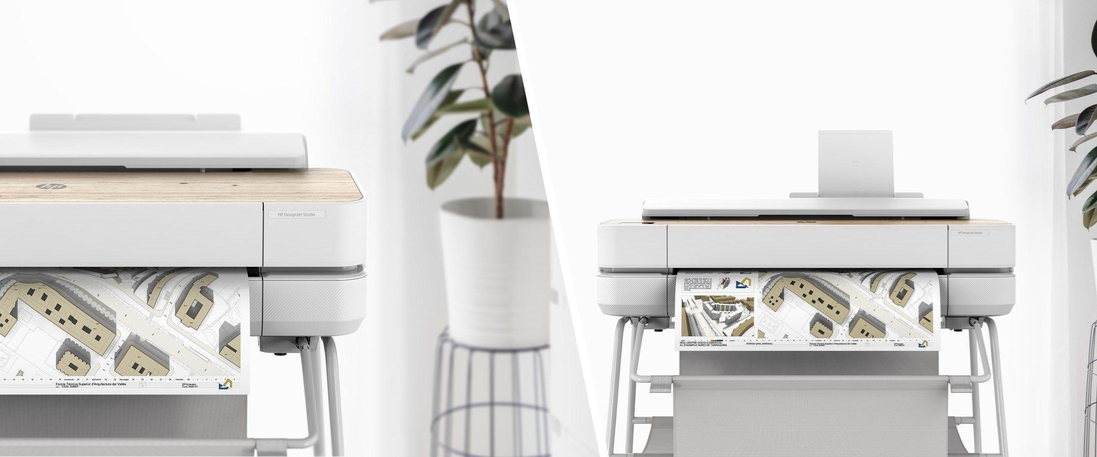 Stampanti HP DesignJet Studio, dispositivi di design