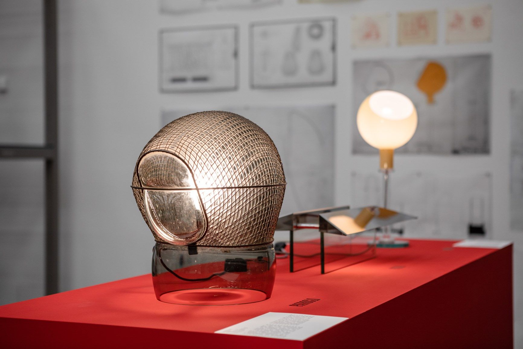 Installation view »Gae Aulenti. A Creative Universe« © Vitra Design Museum, photo: Bettina Matthiessen
