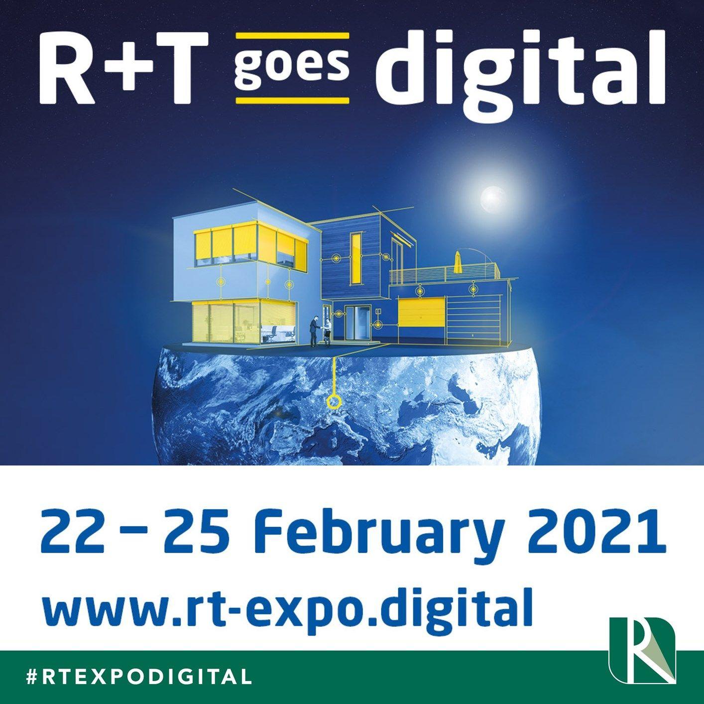 R+T goes digital. So does Resstende