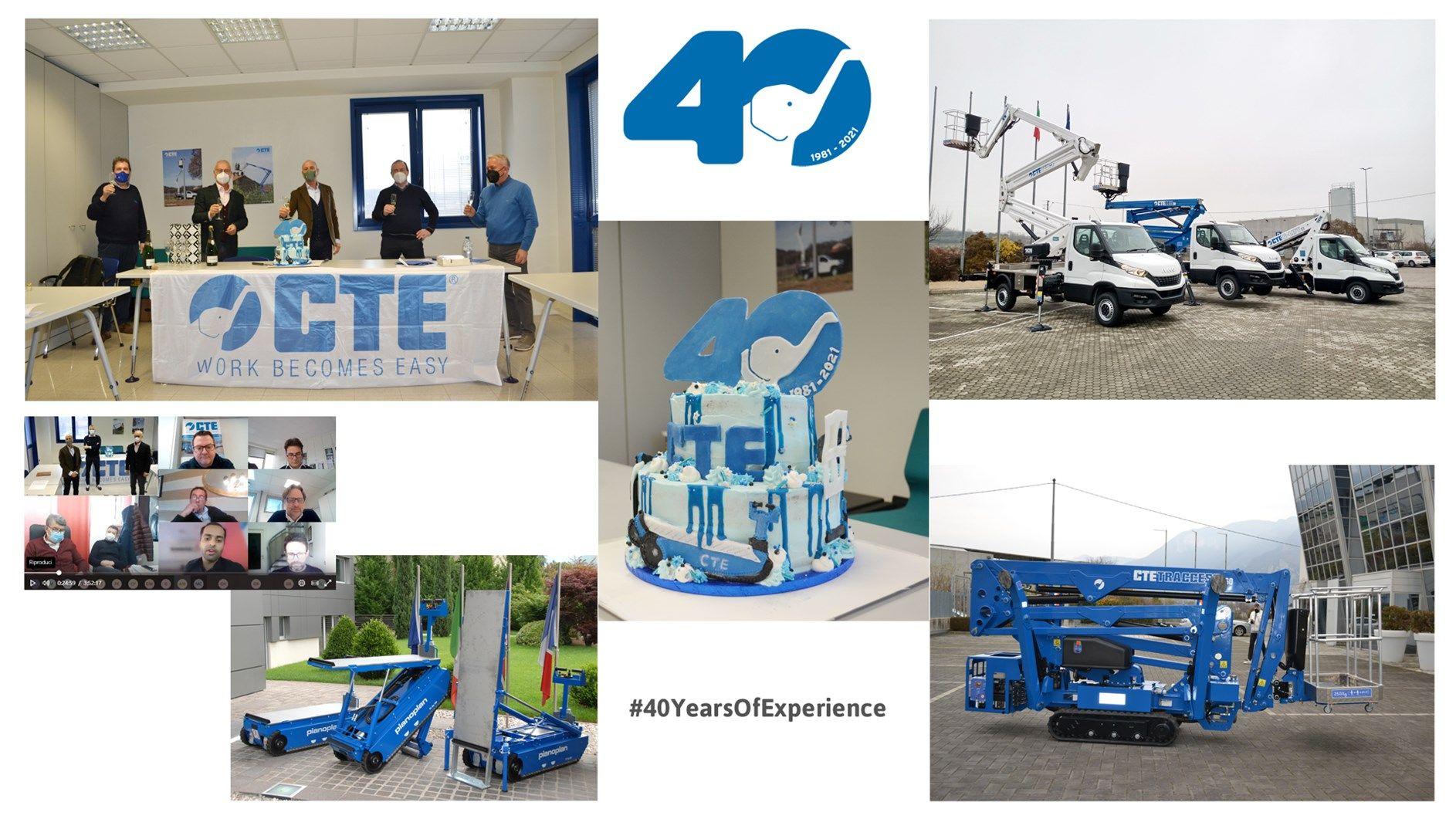 CTE festeggia 40 anni di storia (delle piattaforme)