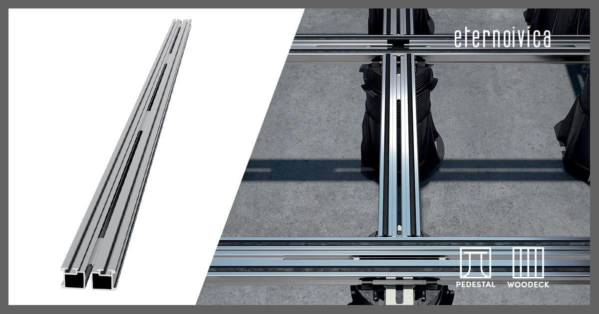 Eterno Ivica ha progettato un nuovo travetto in alluminio binario per il deflusso rapido