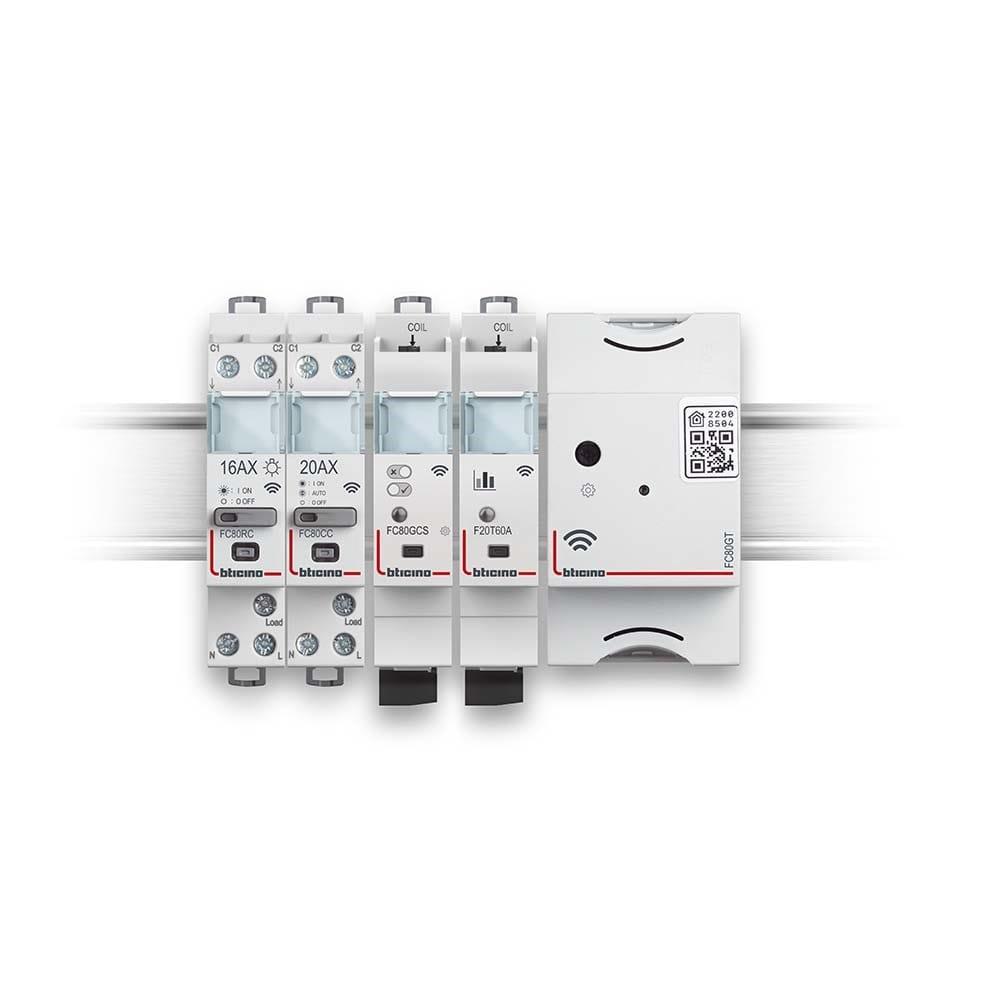 BTDIN with Netatmo rende smart il quadro elettrico