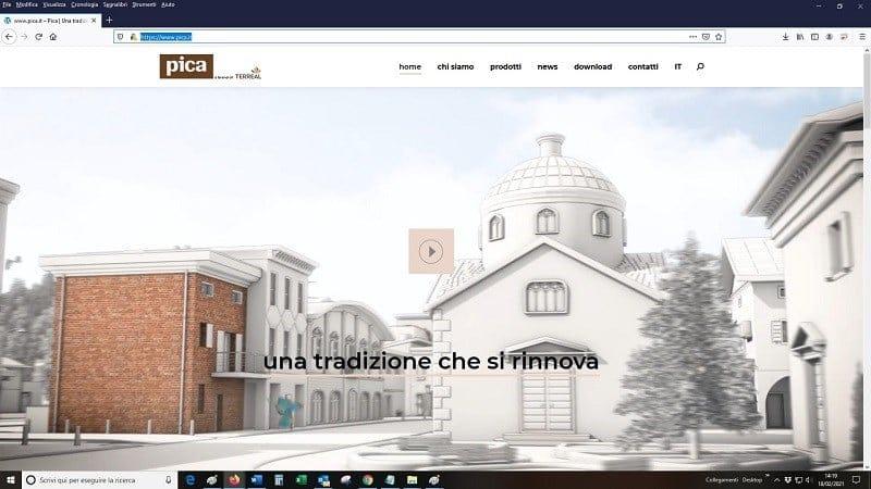 Pica.it: il nuovo sito è online
