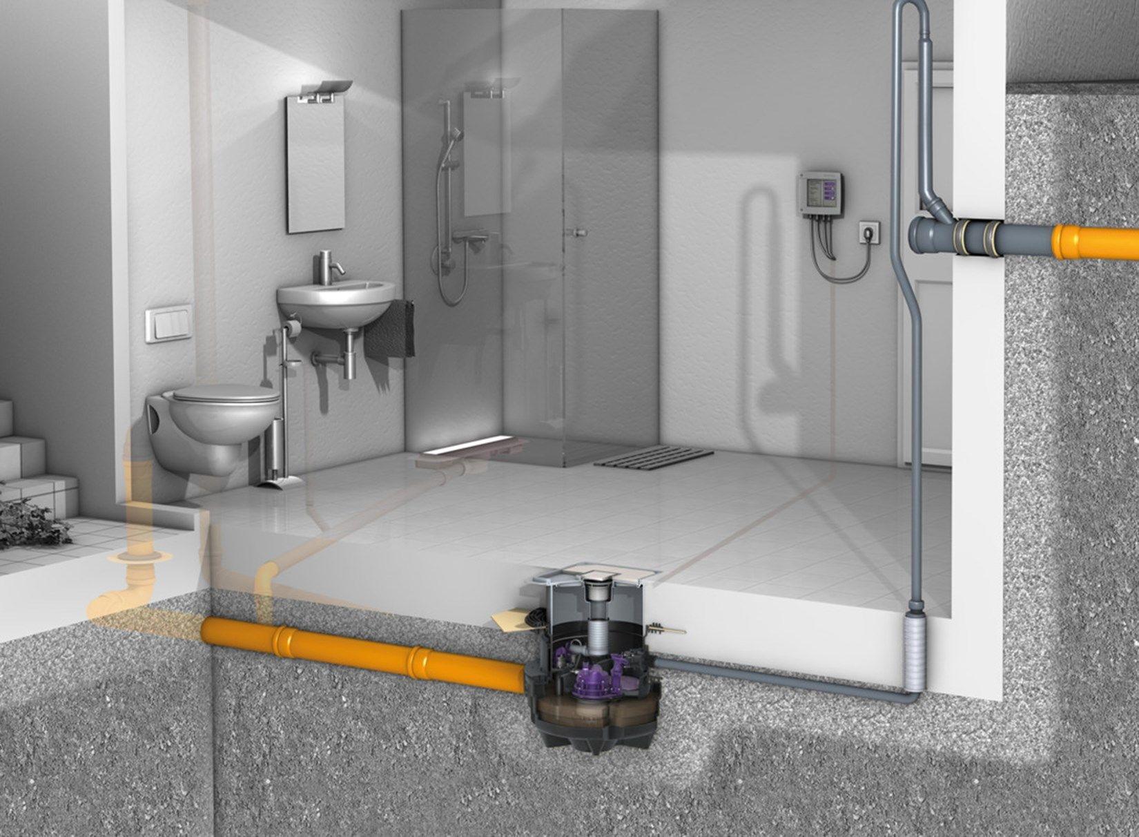 Aqualift F Compact, la novità KESSEL per il drenaggio dei locali interrati