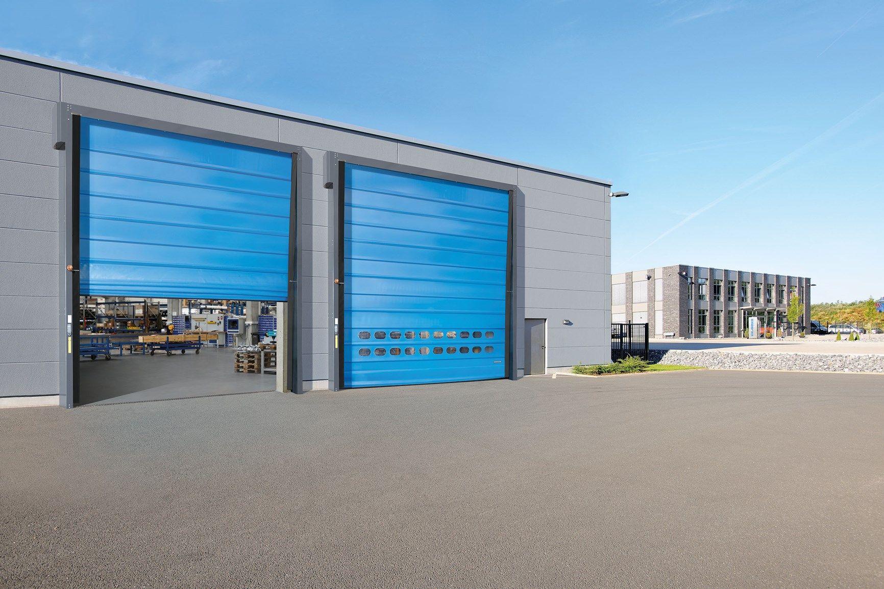 Hörmann presenta la  nuova porta rapida a impacchettamento F 6010