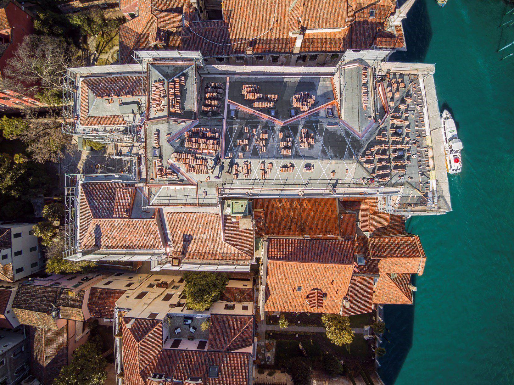 AERtetto per la sede Ca' Tron dell'Università Iuav di Venezia