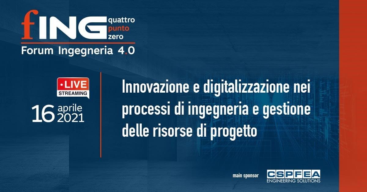 Forum Ingegneria 4.0, il summit delle Aziende di servizio AEC