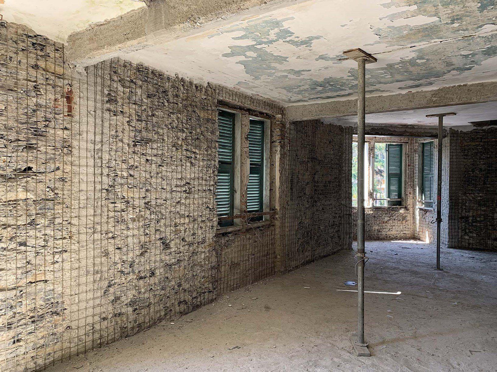 Ruregold per il rinforzo strutturale di una villa Liberty a Rapallo
